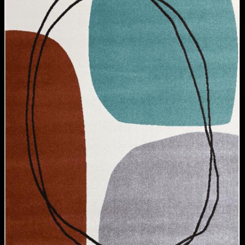 caramelly designer rug
