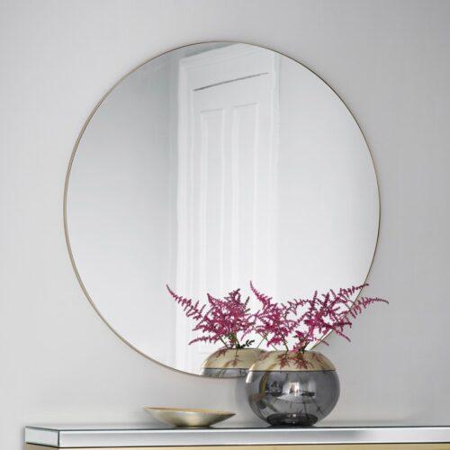haley round mirrors